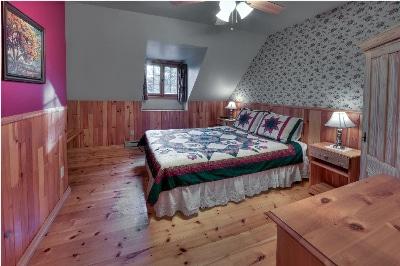 1ere chambre du chalet 2 pour location de chalet