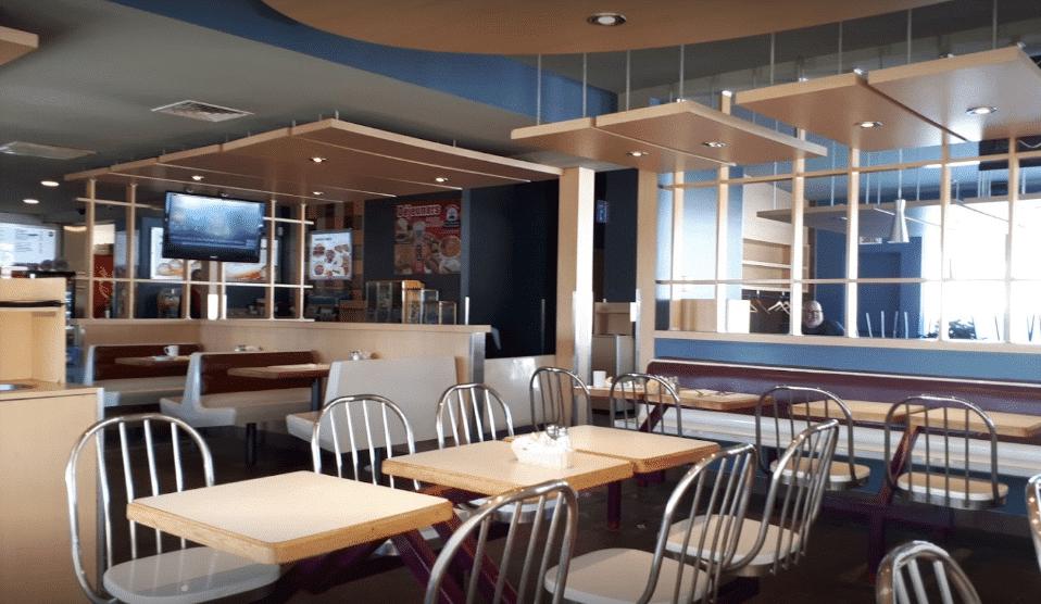 Salle du restaurant Chez Bolduc